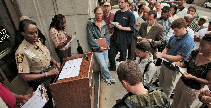 Foreclosure Auction at the Courthouse Steps